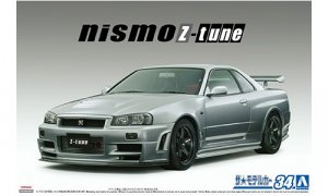 1:24 Scale Nissan Skyline R34 GTR NISMO Z Tune 2004 Model Kit #
