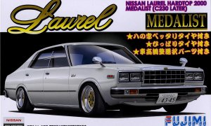 1:24 Nissan Laurel 2000 4dr Medarist Model Kit #1040