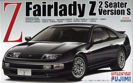 1:24 Scale Fujimi Nissan 300ZX Fairlady Z32 S Version 1994 Model Kit #565