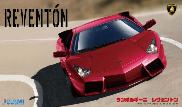 1:24 Scale Fujimi Lamborghini Reventon Model Kit #822