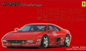 1:24 Ferrari F355 Challenge With Window Frame Masks Model Kit #874p