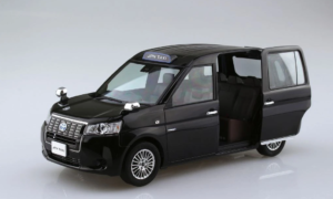 1:24 Scale Aoshima Toyota NTP10 Japanese Taxi BLACK 2017 Model Kit #120p