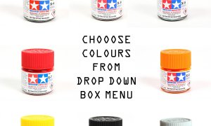 Tamiya Acrylic Model Paint Jars 10ml - Choose All Colours