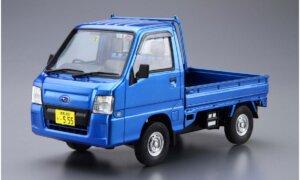 1:24 Scale Aoshima Subaru Sambar WR Blue Ltd Model Kit #1209p