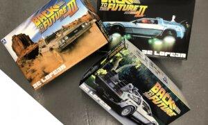 1:24 Scale Aoshima SAVING BUNDLE Back To The Future - All 3 Kits #437/8/9P