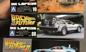 1:24 Scale SAVING BUNDLE Back To The Future - All 3 Kits #437/8/9