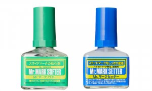 Mr Hobby Decal Application Set - Mark Setter & Mark Softer NEO #