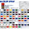Mr Hobby Spray Paints For Painting Model Kits - Lots Of Colours