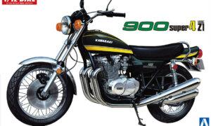 1:12 Scale Kawasaki 900 Super Four Z1 Model Kit #1214