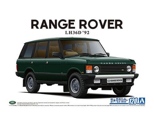 1:24 Scale Range Rover LH36D Classic 1992 Model Kit #1293P