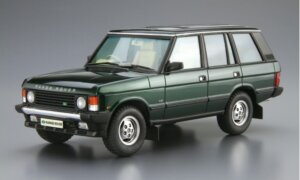 1:24 Scale Aoshima Range Rover LH36D Classic 1992 Model Kit #1293P