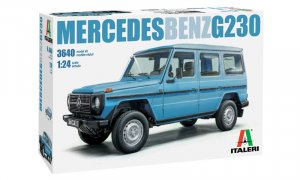 1:24 Scale Mercedes G Wagen G230 Model Car Kit #1251P