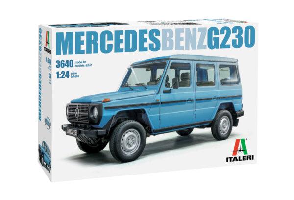 1:24 Scale Mercedes G Wagen G230 Model Car Kit #1251P