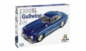1:24 Scale Mercedes 300SL Model Car Kit #1234P