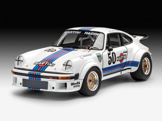 1:24 Scale Revell Porsche 934 911 RSR Martini Version Model Car Kit #1265P