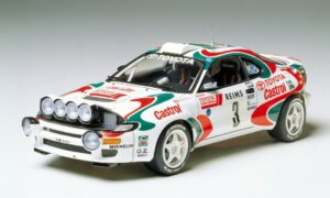 1:24 Scale Tamiya Toyota Celica Castrol 1990's WRC Rally Car Model Kit #1241P