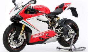 1:12 Scale Ducati Panigale S 1199 Tricolore Model Bike Kit #1270
