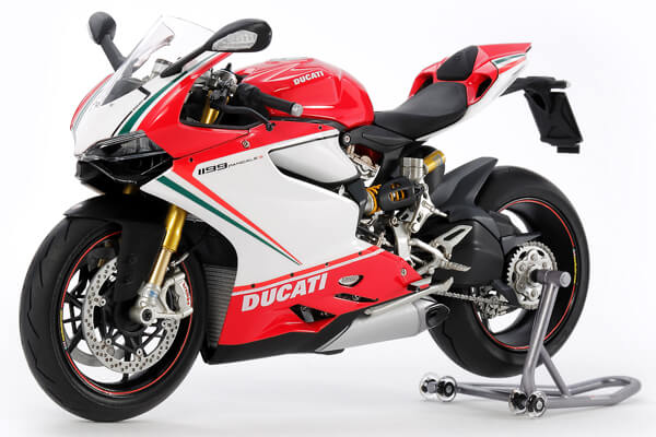 1:12 Scale Ducati Panigale S 1199 Tricolore Model Bike Kit #1270