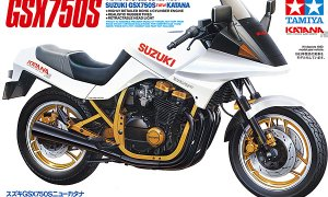 1:12 Scale Suzuki GSX750S New Katana Ltd Model Bike Kit #1258