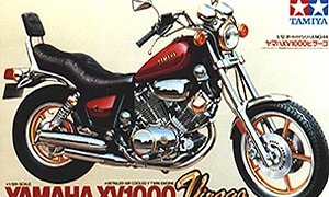 1:12 Scale Yamaha Virago XV1000 Bike Model Kit #1244