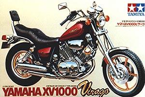1:12 Scale Yamaha Virago XV1000 Bike Model Kit #1244
