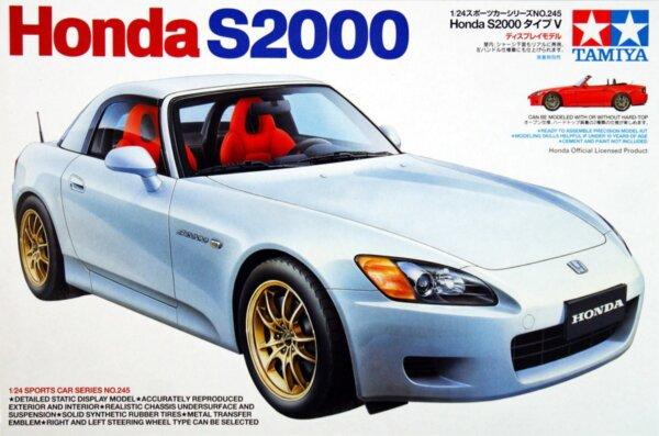 1:24 Scale Tamiya Honda S2000 AP1 Model Kit #1280