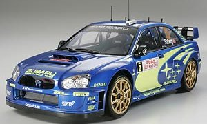1:24 Scale Subaru Impreza Blobeye 2005 WRC Rally Model Kit #1235P