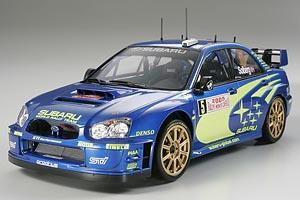 1:24 Scale Subaru Impreza Blobeye 2005 WRC Rally Model Kit #1235P