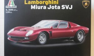 1:24 Scale Lamborghini Miura Jota Model Car Kit #1254P