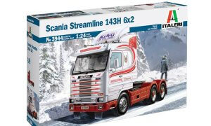 1:24 Scale Scania Streamline 143H 6X2 Truck Tractor Unit #