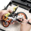 Workstation With Magnifying Lense for Building Model Kits #1285