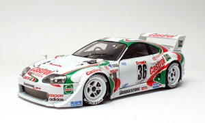 1:24 Scale Tamiya Toyota Supra JGTC Tom's Racing Car Model Kit #1281P