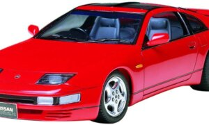 1:24 Scale Tamiya Nissan 300ZX Z32 Fairlady Model Car Kit #1228p