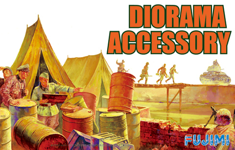 1:76 Scale Military Diorama Accessory Set #1398p