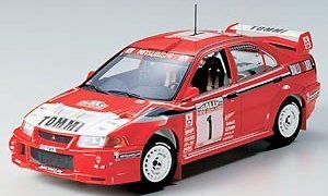 1:24 Scale Mitsubishi Lancer Evo 6 VI Tommi Makkinen Model Car Kit #1266P