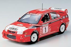 1:24 Scale Mitsubishi Lancer Evo 6 VI Tommi Makkinen Model Car Kit #1266P