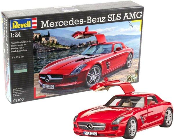 1:24 Scale Revell Mercedes SLS AMG Model Car Kit #1261