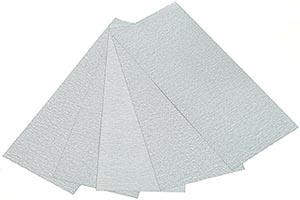 Finishing Abrasives Sheet Pack for Prep/Painting Model Kits #2115