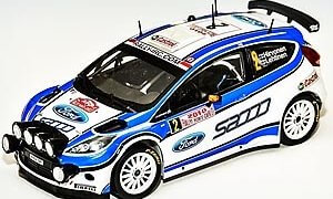 1:24 Scale Belkits Ford Fiesta ST S2000 Rally Car Model Kit #1284P