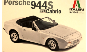 1:24 Scale Porsche 944 S Cabriolet Convertible Model Kit #1227P
