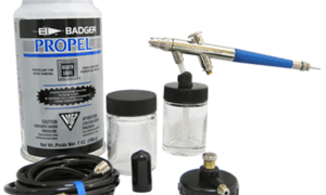 Airbrush Advanced Siphon Set Ready To Go [just add paint] With Propellant #2123