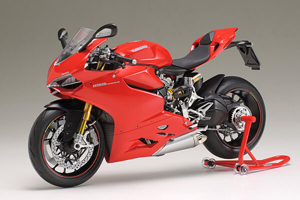 1:12 Scale Ducati Panigale 1199 S Model Bike Kit #