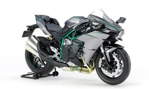 1:12 Kawasaki Ninja H2 Carbon Model Bike Kit #1272p
