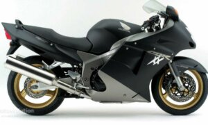 1:12 Scale Tamiya Honda CBR 1100XX S.Blackbird Model Bike Kit #1257
