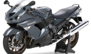 1:12 Scale Tamiya Kawasaki ZZR1400 Model Bike Kit #1276p