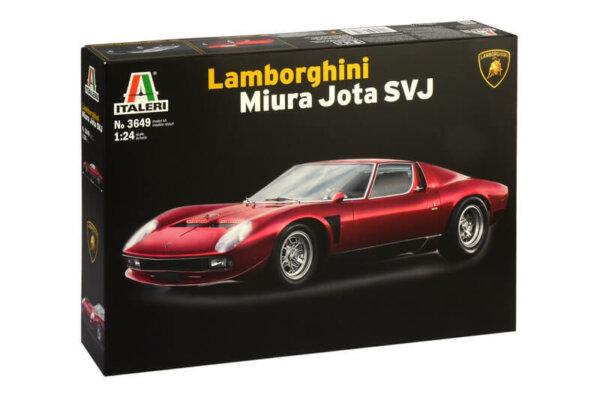 1:24 Scale Lamborghini Miura Jota Model Car Kit #1254P