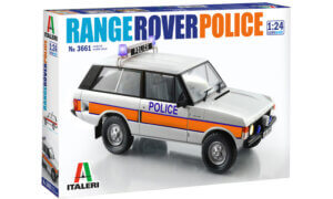 1:24 Scale Italeri Range Rover Police Version Model Kit #1489
