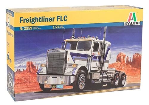 1:24 Scale Italeri Freightliner FLC Model Truck Kit #1505