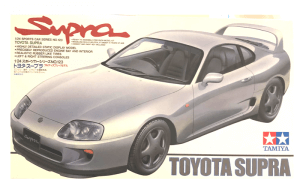 1:24 Scale Toyota Supra JZA80 Model Car Kit #1225p