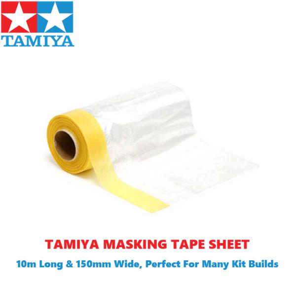 Tamiya Masking Sheet/Tape for painting 10m long 150mm wide #2117